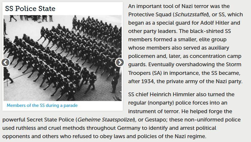 nazi state police