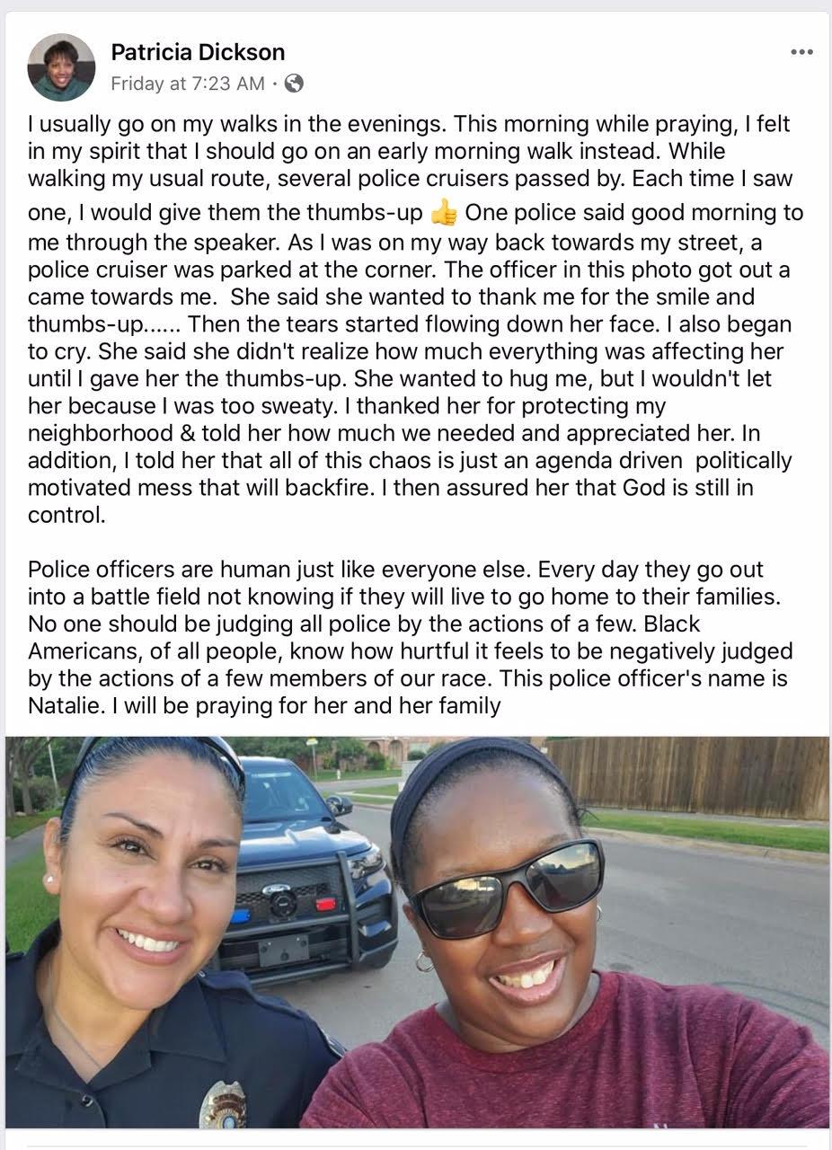 patricia dickinson police officer