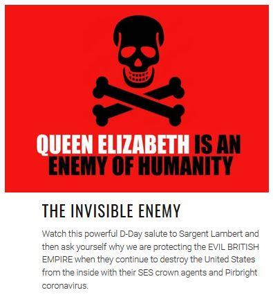 queen elizabeth invisible enemy
