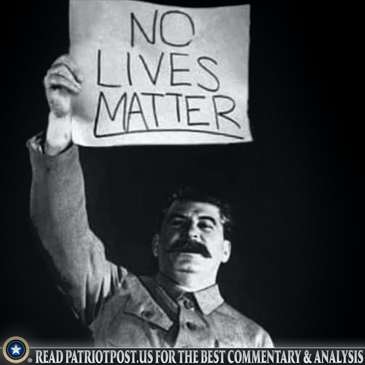 stalin no lives matter blm