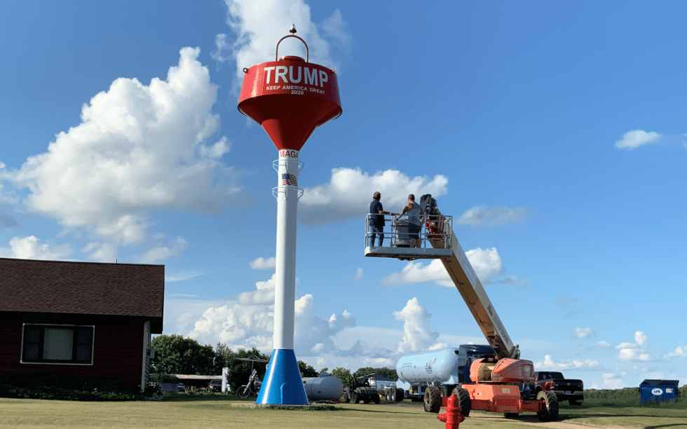 Trump water Tower