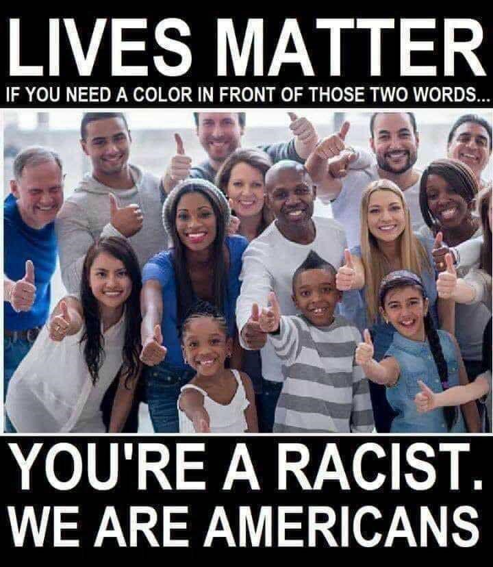 all lives matter blm