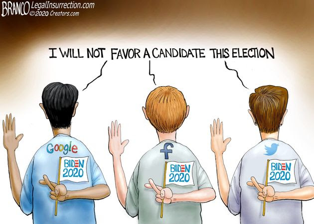 big tech silicon valley branco google facebook twitter