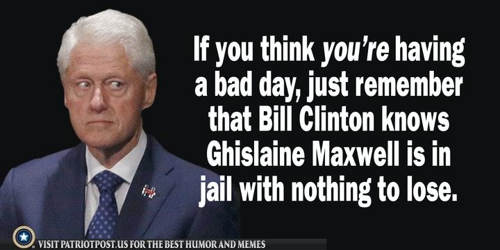 bill clinton ghislaine maxwell