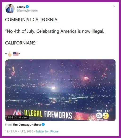 california fireworks