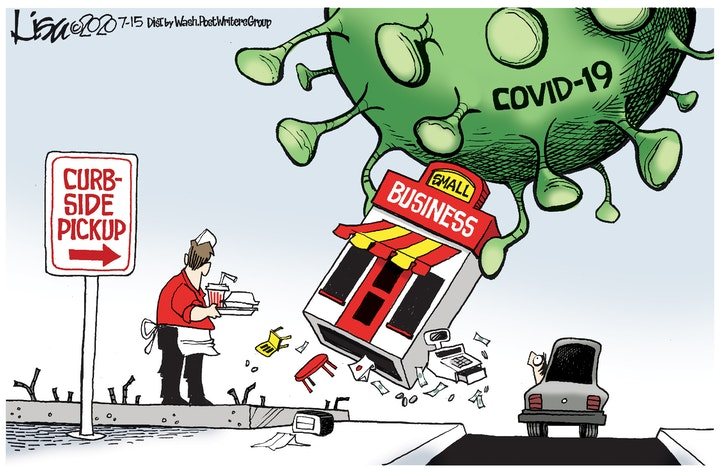 corona business economy