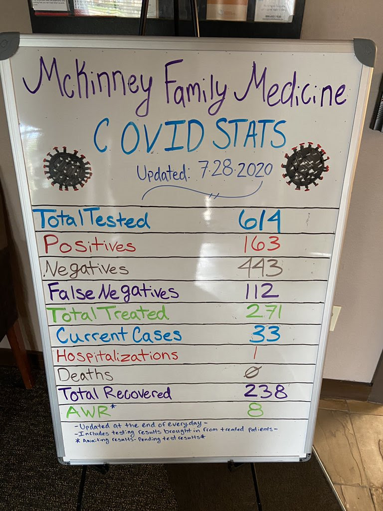 mckinney family medicine covid