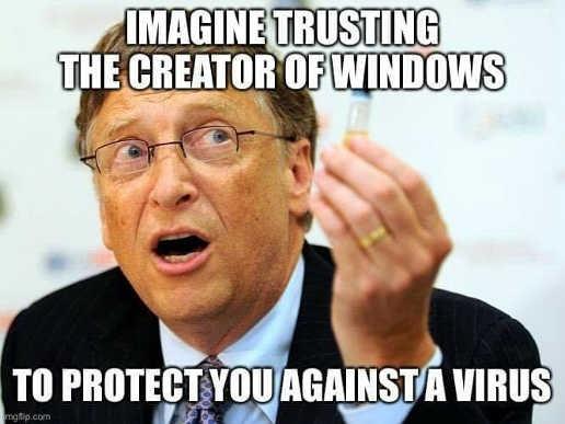 microsoft gates virus