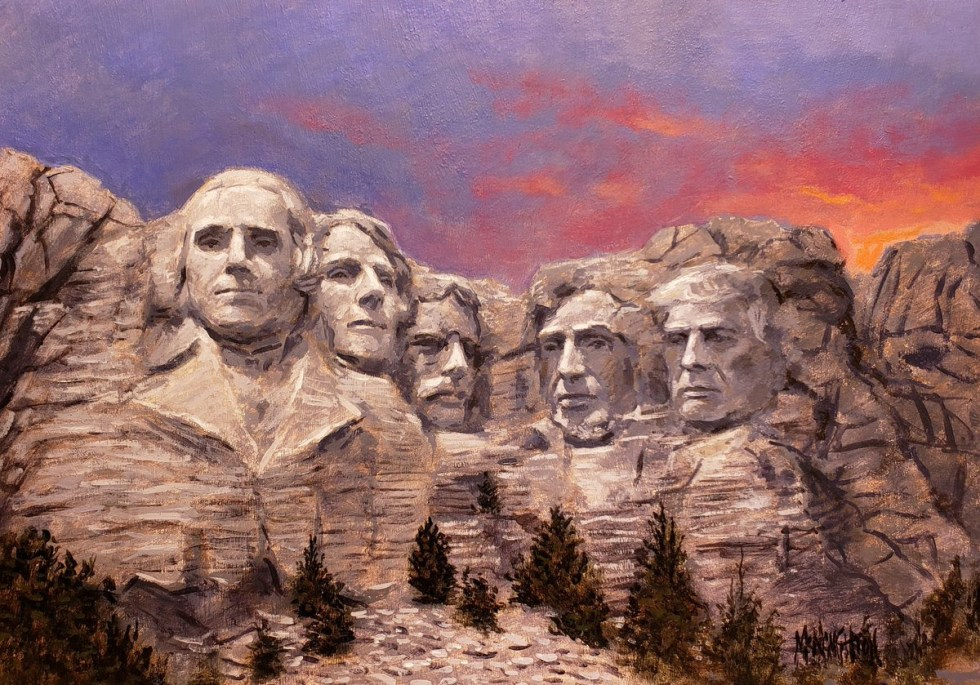 mt rushmore trump 2