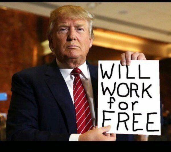 trump works free