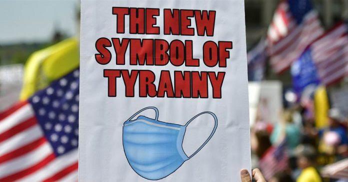 tyranny face mask