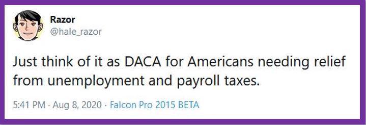 DACA tweet