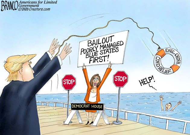 branco pelosi bail out