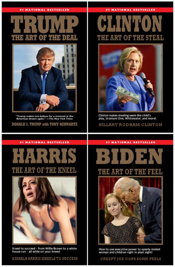 candidates trump clinton biden harris