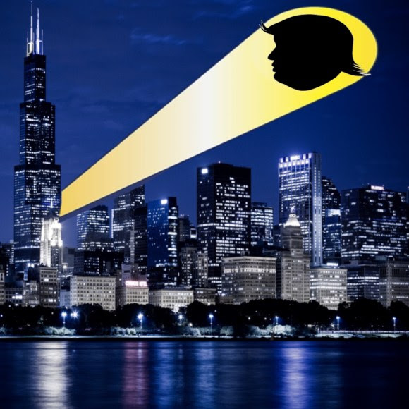 chicago batman trump