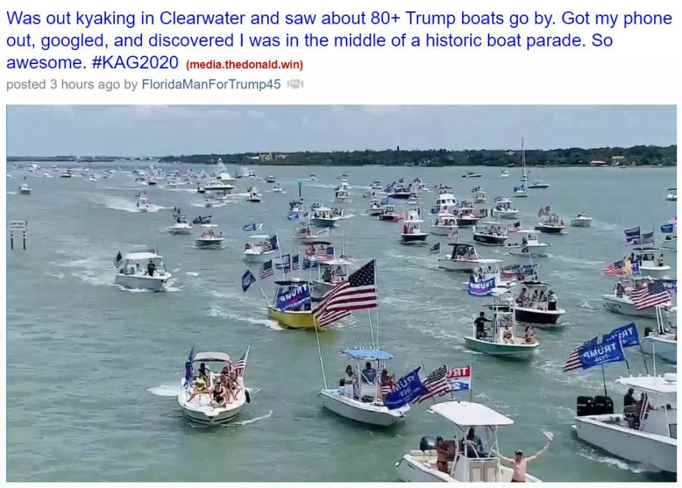 clearwater boat parade