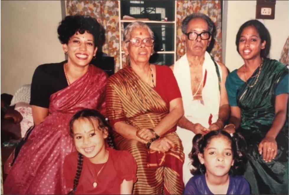 kamala harris indian family