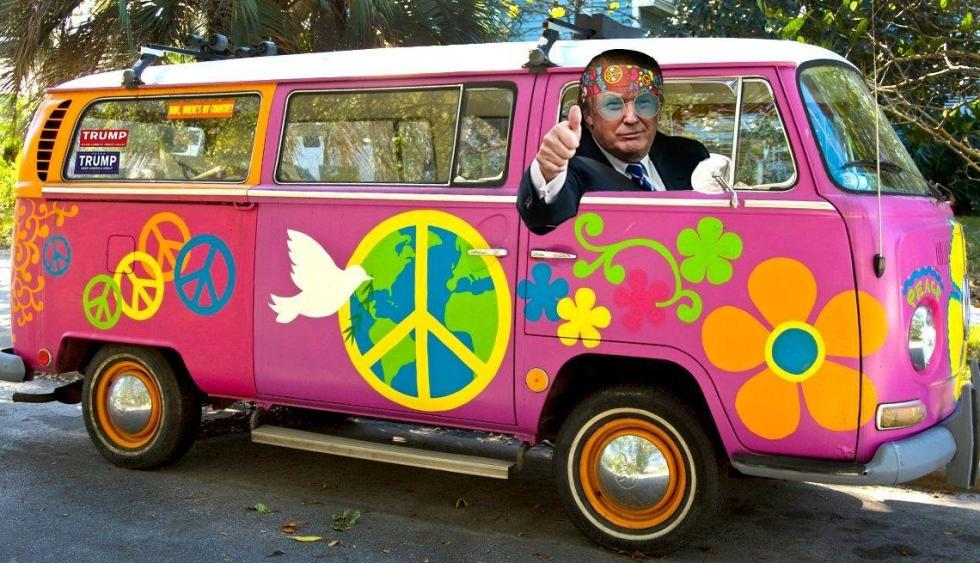 peace bus trump