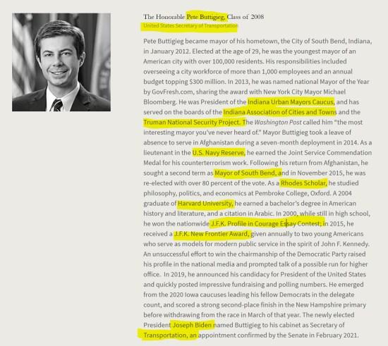 Pete Buttgeig, groomed Rhodes Scholar, Oxford, Harvard, American Academy of Achievement aka British Pilgrims Society, Washington, D.C. subsidiary.
