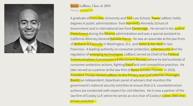 Travis LeBlanc, Class of 2003, American Academy of Achievement aka British Pilgrims Society, Washington, D.C. subsidiary.