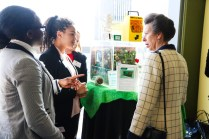 Audrey Fidgegnon and Vanessa Madu of BEauty and the Bees with HRH The Princess Royal