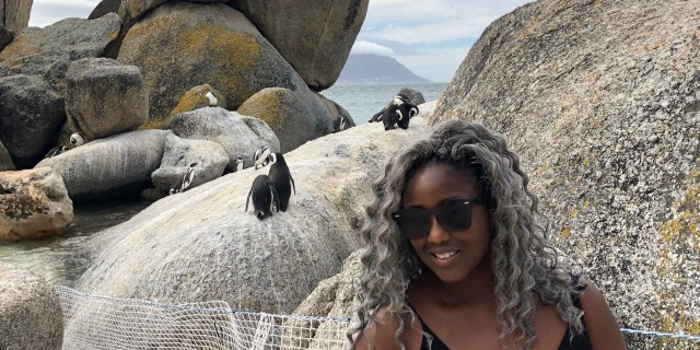 Anne-Marie at Boulders Beach on 8 Mar 2019