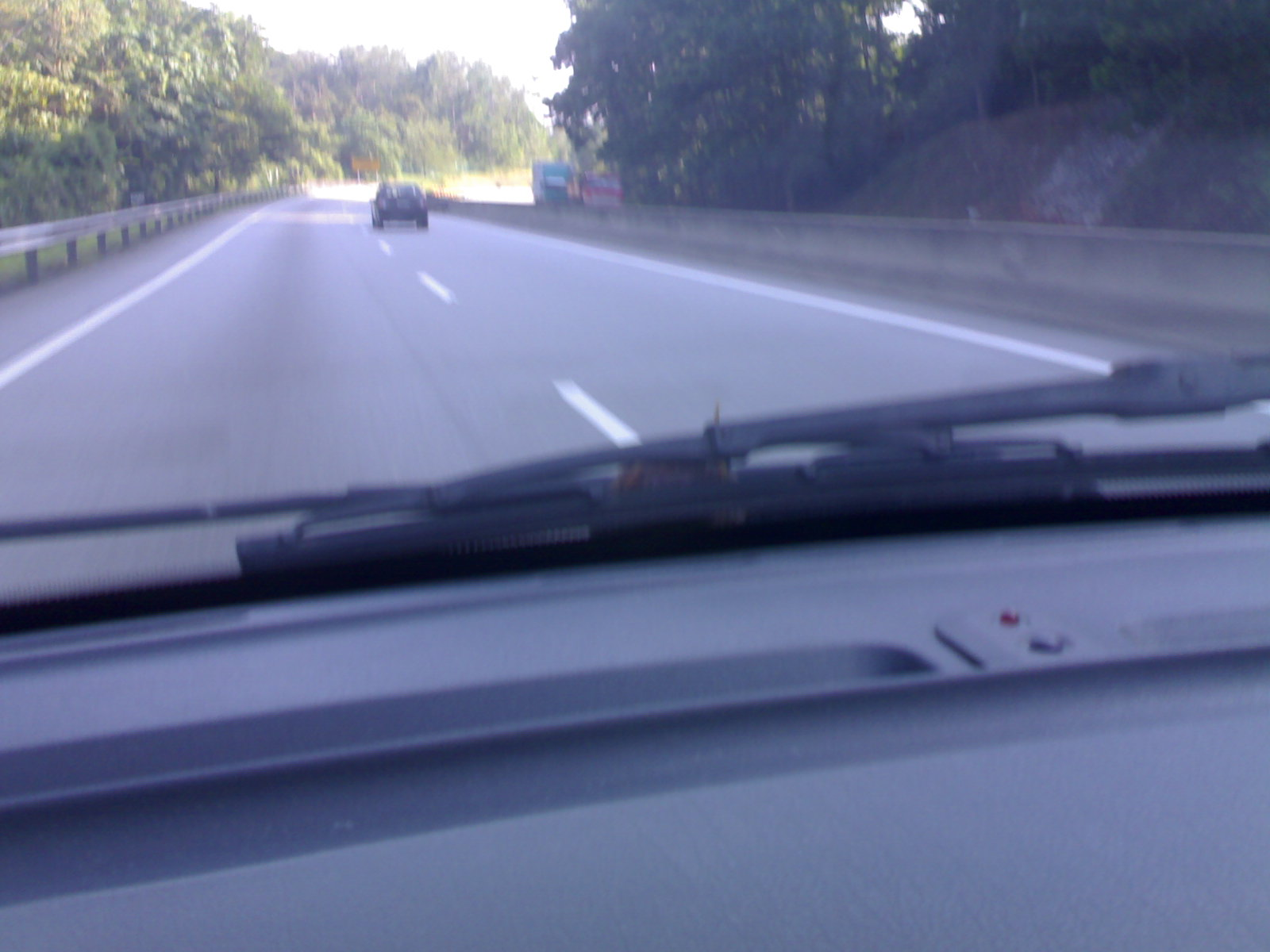 We found it on the hiding behind the wiper after passing the Gombak toll.