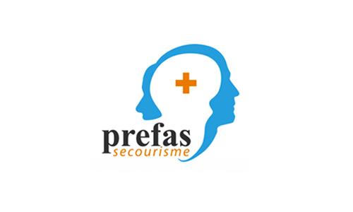 Logo et lien Prefas Secourisme