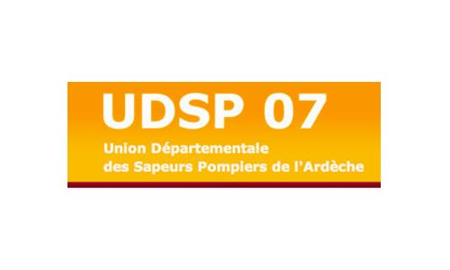 Logo et lien UDSP 07