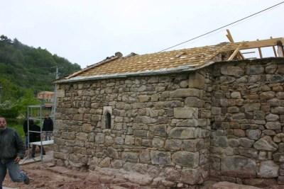 Restauration chapelle - toiture