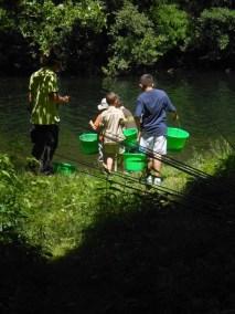 Aménagement spot de pêche