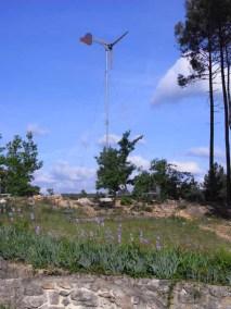 Maison Aime - éolienne