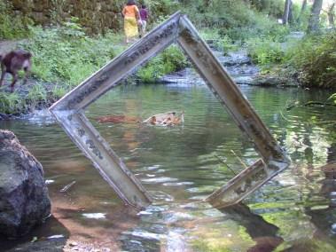 Mai des terrasses - cadre dans l'eau