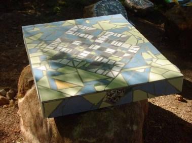 Mai des terrasses - table mozaïque