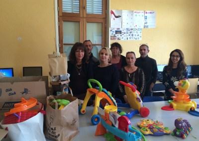2016 Projet collectif Collecte de jouets Bourg-St-Andéol