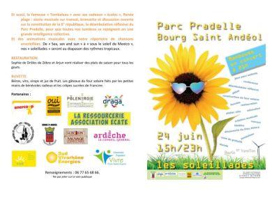 2017 Projet collectif Les Soleillades Bourg-St-Andéol