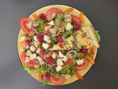 Salade & tarte