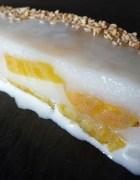 Gâteau de fromage blanc façon tourteau