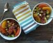 Flan de carotte à la Tome des Bauges et au cumin