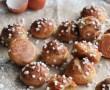 Tarte aux champignons des bois et marrons {sans lait}