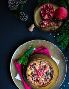 Gâteau de Noël aux airelles et clémentines {glutenvrij – zonder melk}
