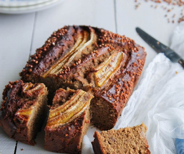 Banana bread au sarrasin {sans gluten – sans lait}
