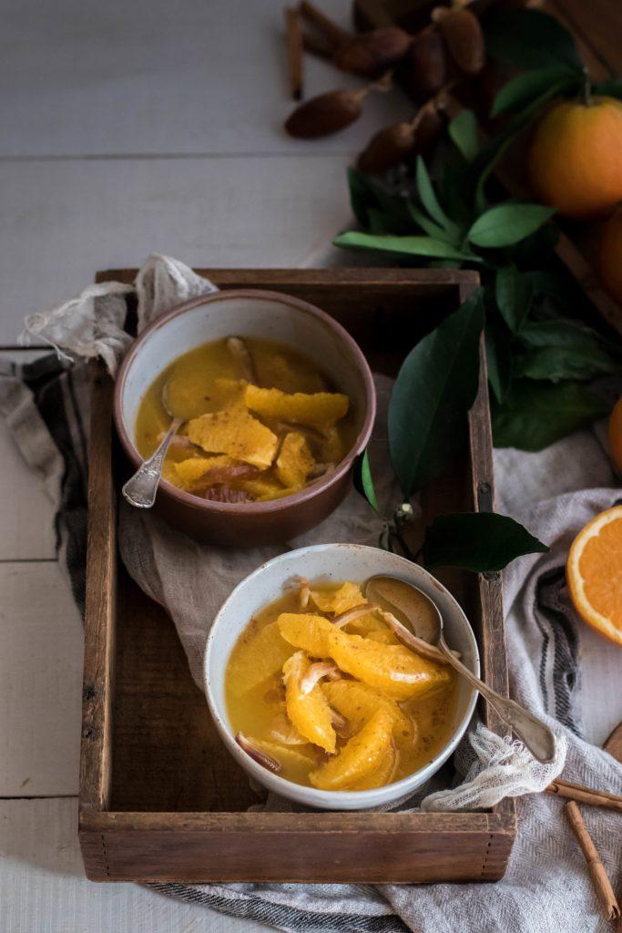 recette d'oranges