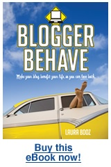 Blogger Behave - by Laura Booz (Review by Tessa from Aimed at the Heart)