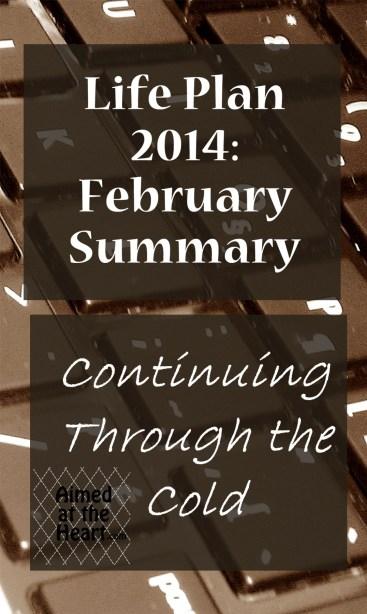 Life Plan 2014: February Summary
