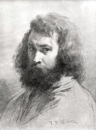 Self-Portrait, Jean François Millet