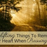 4 Uplifting Things To Remember In Your Heart When Pursuing Hope