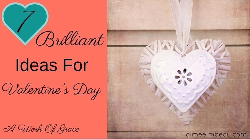 I asked my husband for his ideas on Valentine's Day gifts. He is so creative and mentioned a few things I hadn't thought of...but I love! I hope you enjoy these 7 Brilliant Ideas For Valentine's Day!