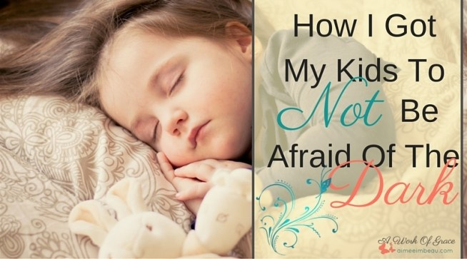 Do you have kids who are afraid of the dark? They hate being in their bedrooms alone at night...just in case? I've seen several ideas out there that claim to alleviate this problem, but only one has worked for our family. How I Got My Kids To NOT Be Afraid Of The Dark. Christian parenting.
