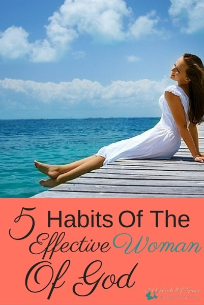 What does it mean to you to be an effective woman of God? Does the possibility of becoming one excite you? Does the thought give you hope? 5 Habits Of The Effective Woman Of God.